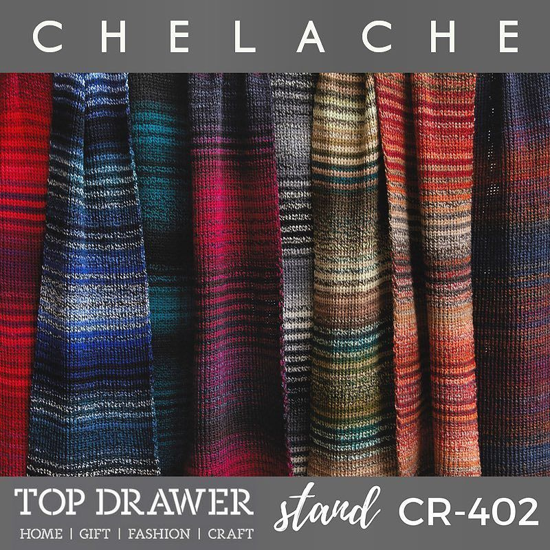 Just two days until @topdrawerlondon opens. Our #knitted #fashion #accessories can be found on stand CR402 #craft #knitting #london #olympia