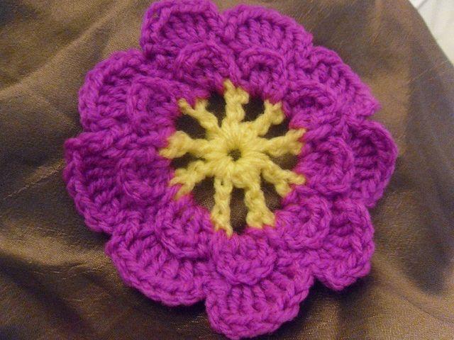 Patrones de flores de crochet | Tipos de flores, Patrones de crochet ...