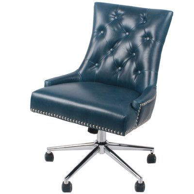 New Pacific Direct Cadence Mid-Back Desk Chair Upholstery: Vintage