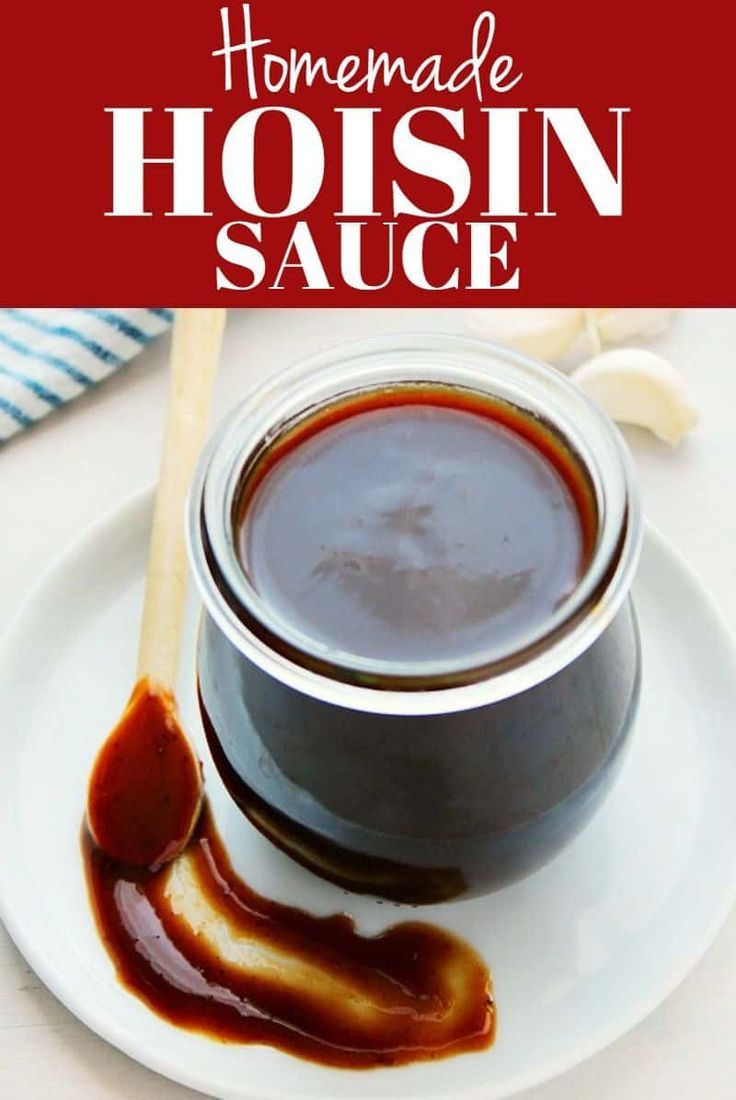 Make this Homemade Hoisin Sauce substitute in 5 minutes and forget the store-bought stuff. This sauc