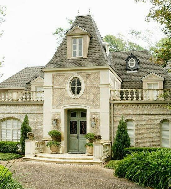 French Country Style Home Exterior: Pin By Oneida Elizondo On House