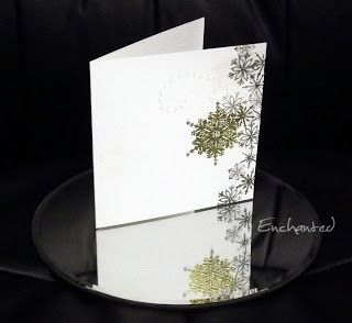 """Less is More"": One Layer Card - Let it Snow"