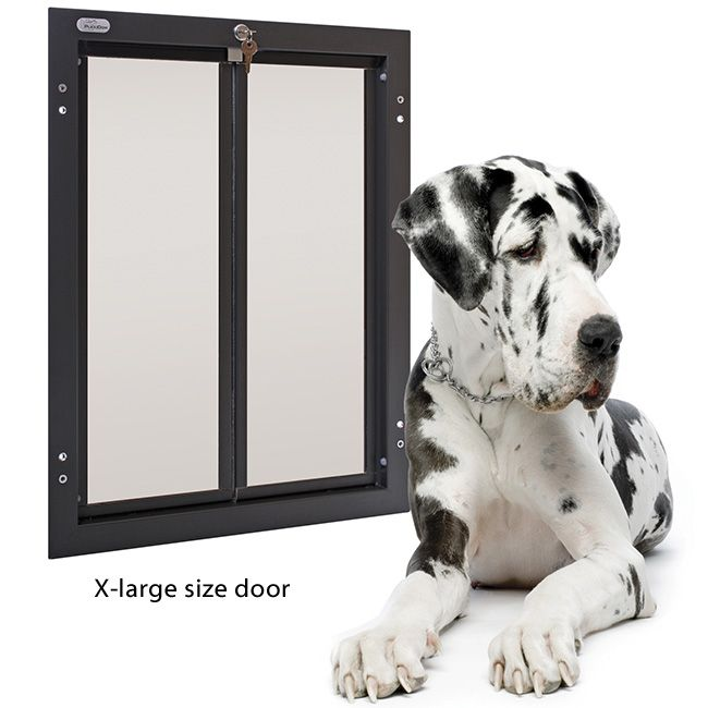 Plexidor Pet Doors Are Manufactured To Be Strong Safe And Energy