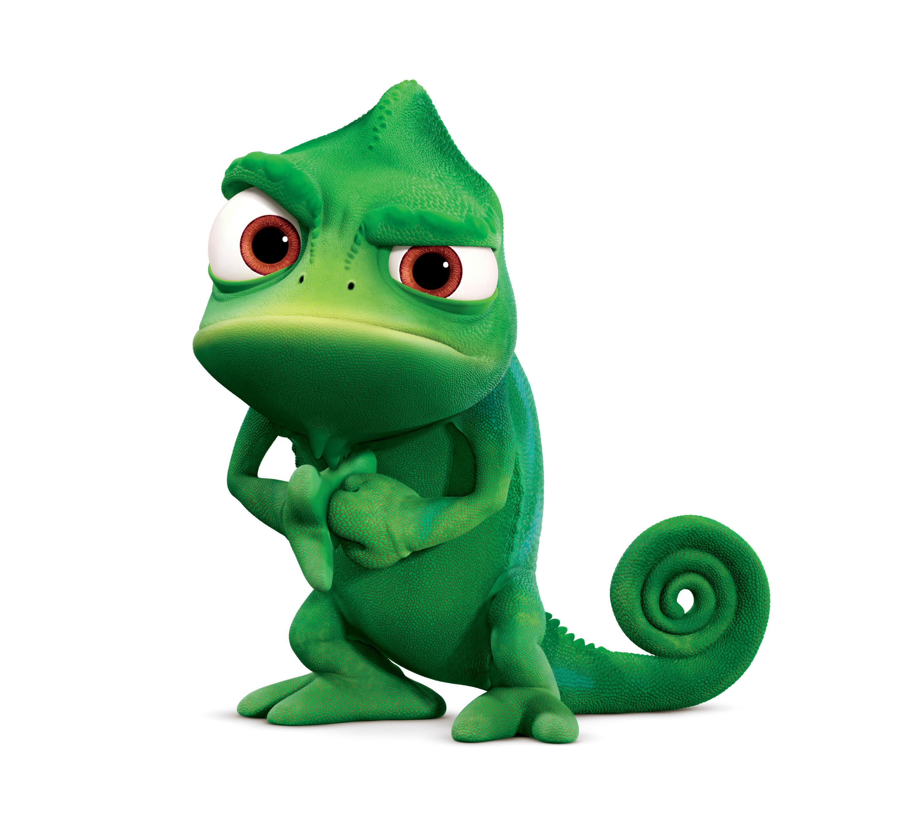 Pascal this guy is the best awesomeness pinterest - Raiponce cameleon ...