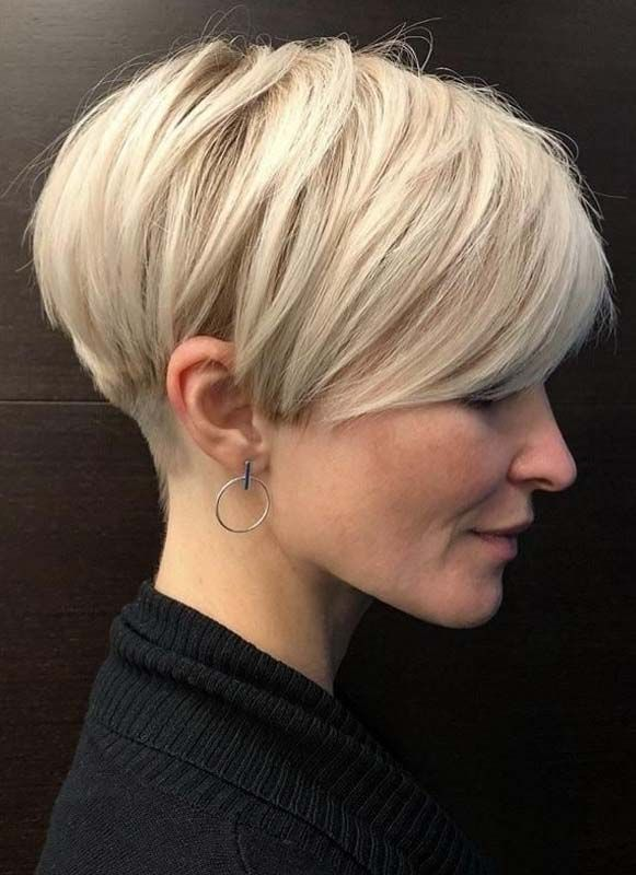 Awesome Pixie Cut Styles with Blonde Shades for 2019 | Fashionsfield