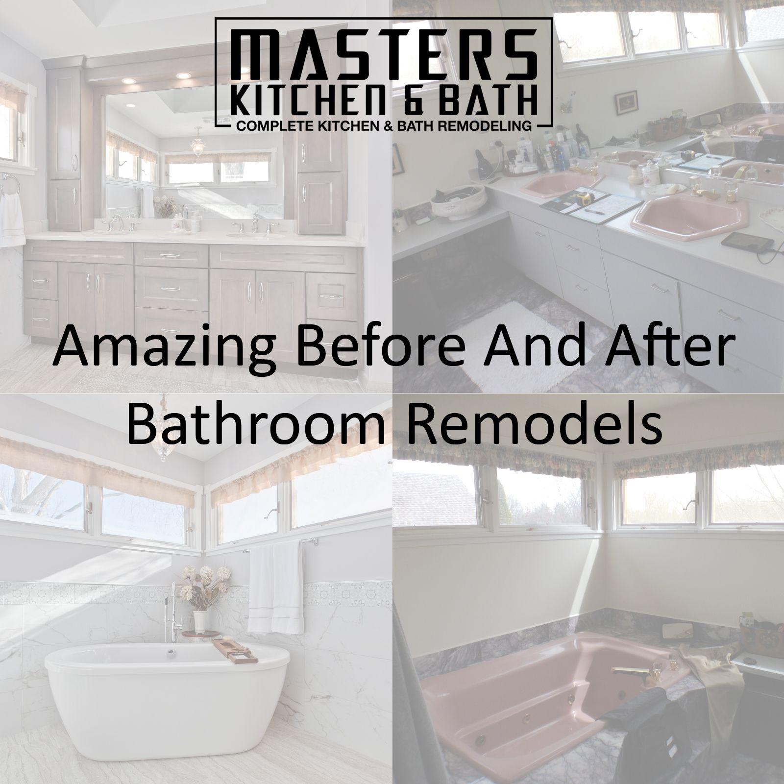 Amazing Bathroom Remodels In 2020 Bathrooms Remodel Remodel Bathroom Transformation