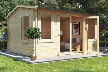Buy a BillyOh Expert Tongue and Groove Pent Workshop from Garden ...