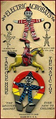 vintage circus toy