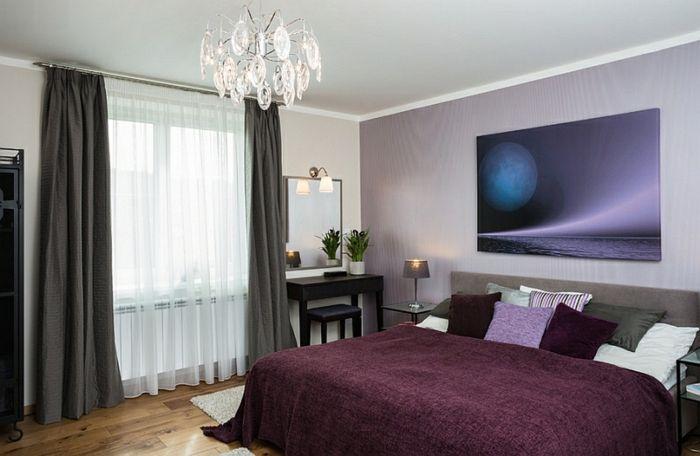 1001 ideas sobre cortinas modernas y elegantes 2017 2018 - Tendencias dormitorio 2018 ...