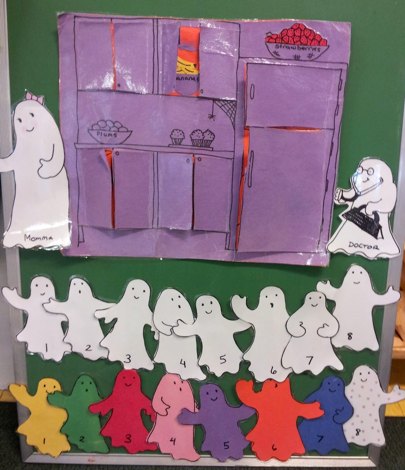 Ghost Themed Worksheet For Preschoolers