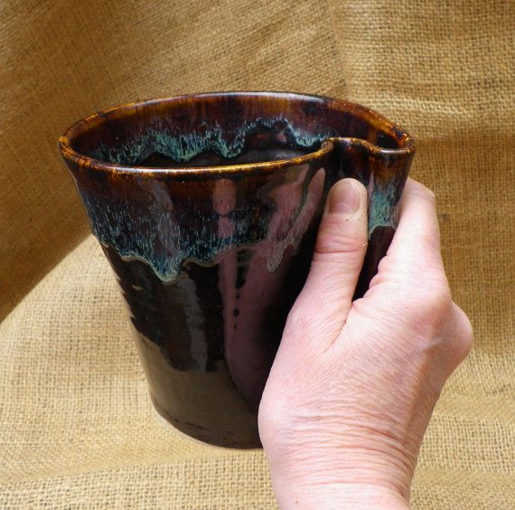 Organic folded coffee mug