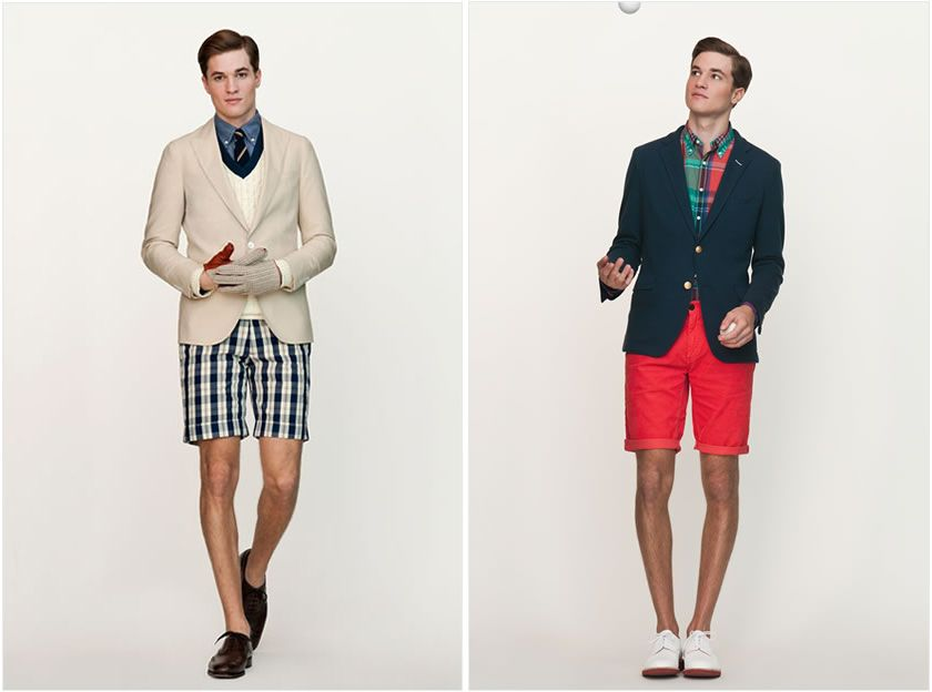 Preppy Look Men The Monsieur Dress Style For Featuring Gant Rugger Ss2017