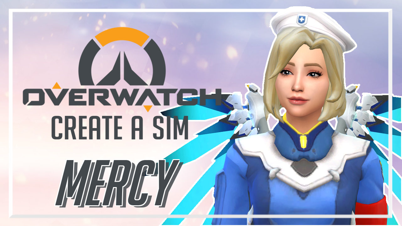 I've uploaded ~ Mercy (Full CC List) // The Sims 4