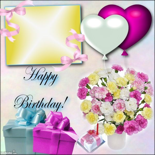 Happy Birthday! Imikimiu0027s To Save For Later Use ! Pinterest - birthday wish template
