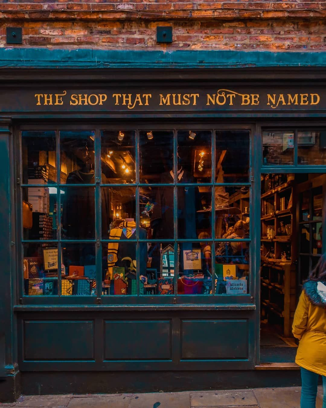 Literary Locations The Shop That Must Not Be Named A Harry Potter Themed Shop In York Geektravel Harry Potter Aesthetic Hogwarts Aesthetic Harry Potter