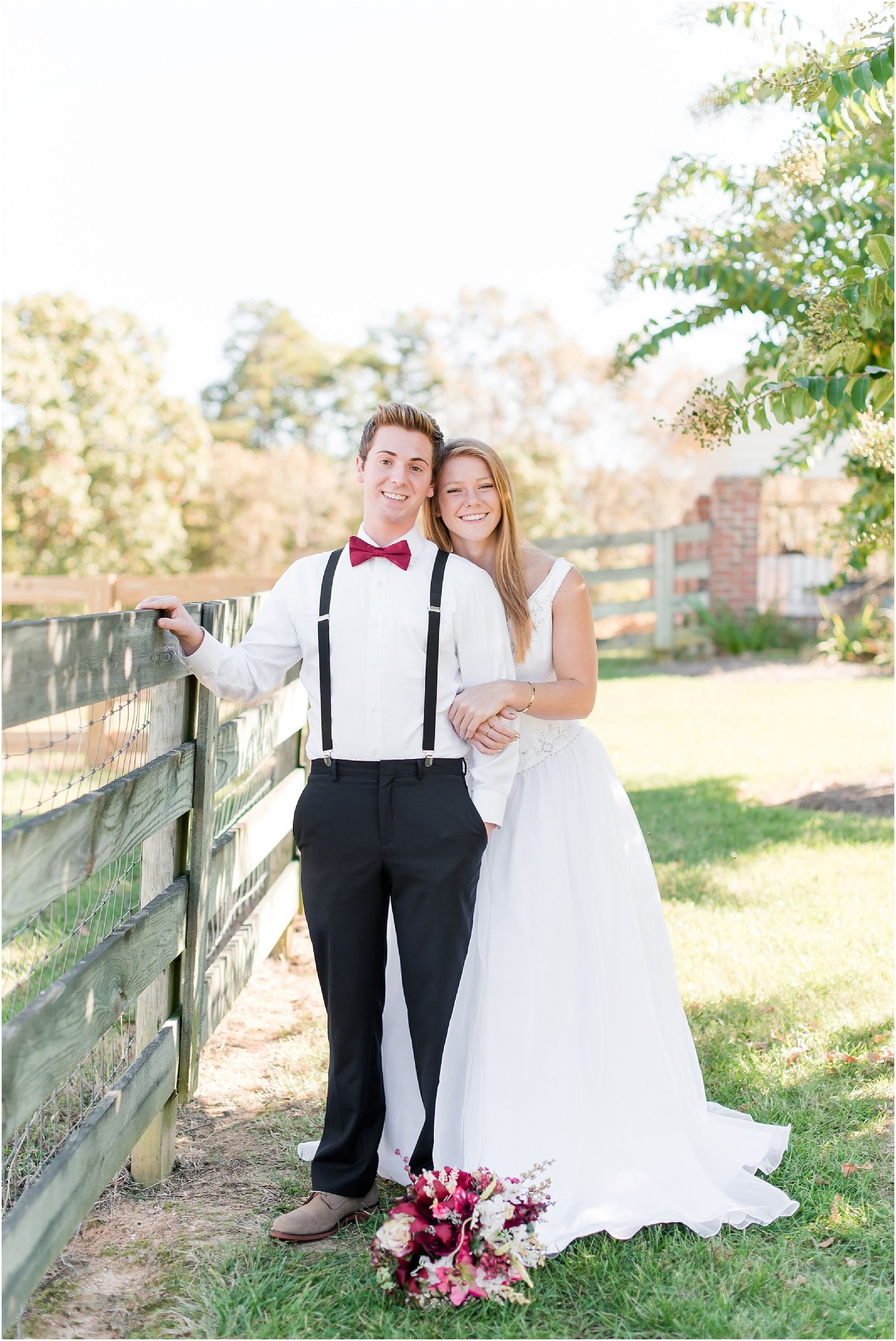 A styled shoot at the lily pad