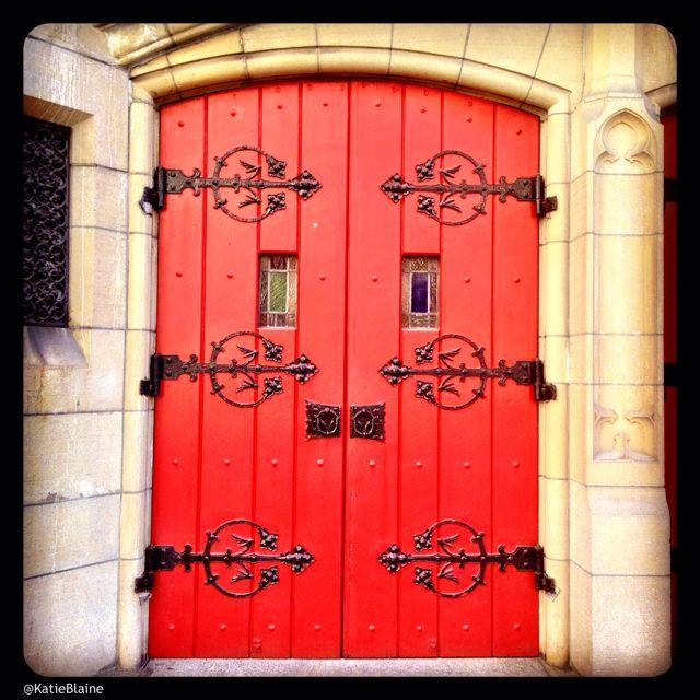 April 3: Church Door