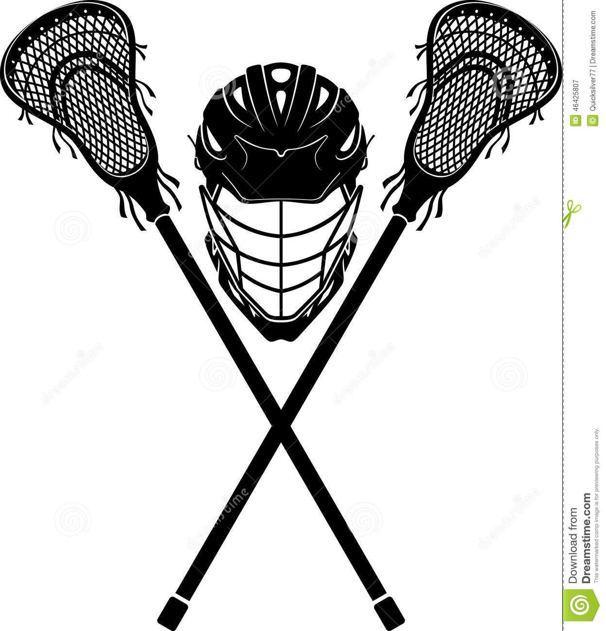 Lacrosse Sports Equipment Front View Silhouette Symbol 46425807 Jpg 1248 1300 Lacrosse Equipment Lacrosse Lacrosse Boys