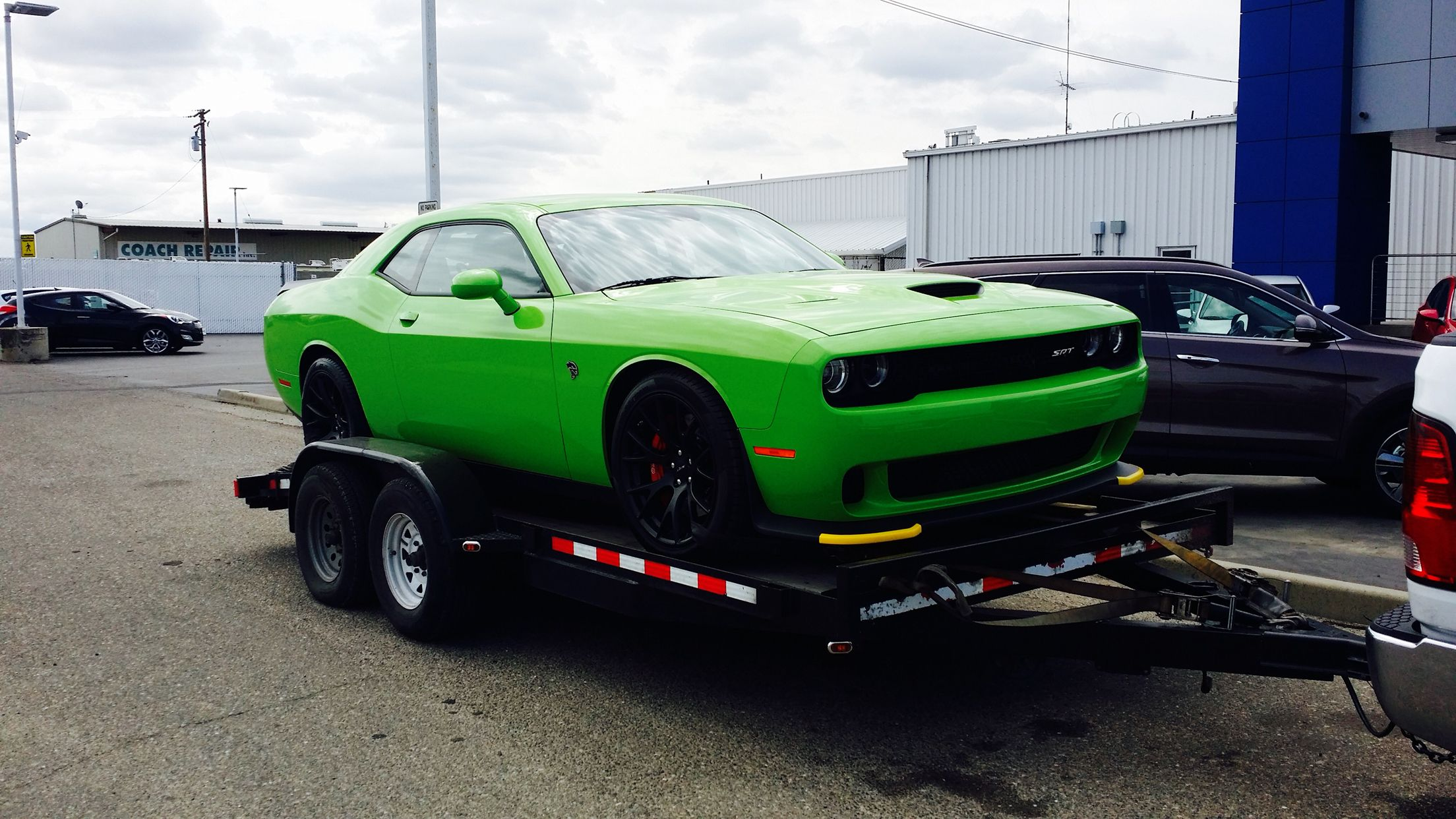 Central Valley Dodge >> Sublime Green Challenger Hellcat Central Valley Dodge