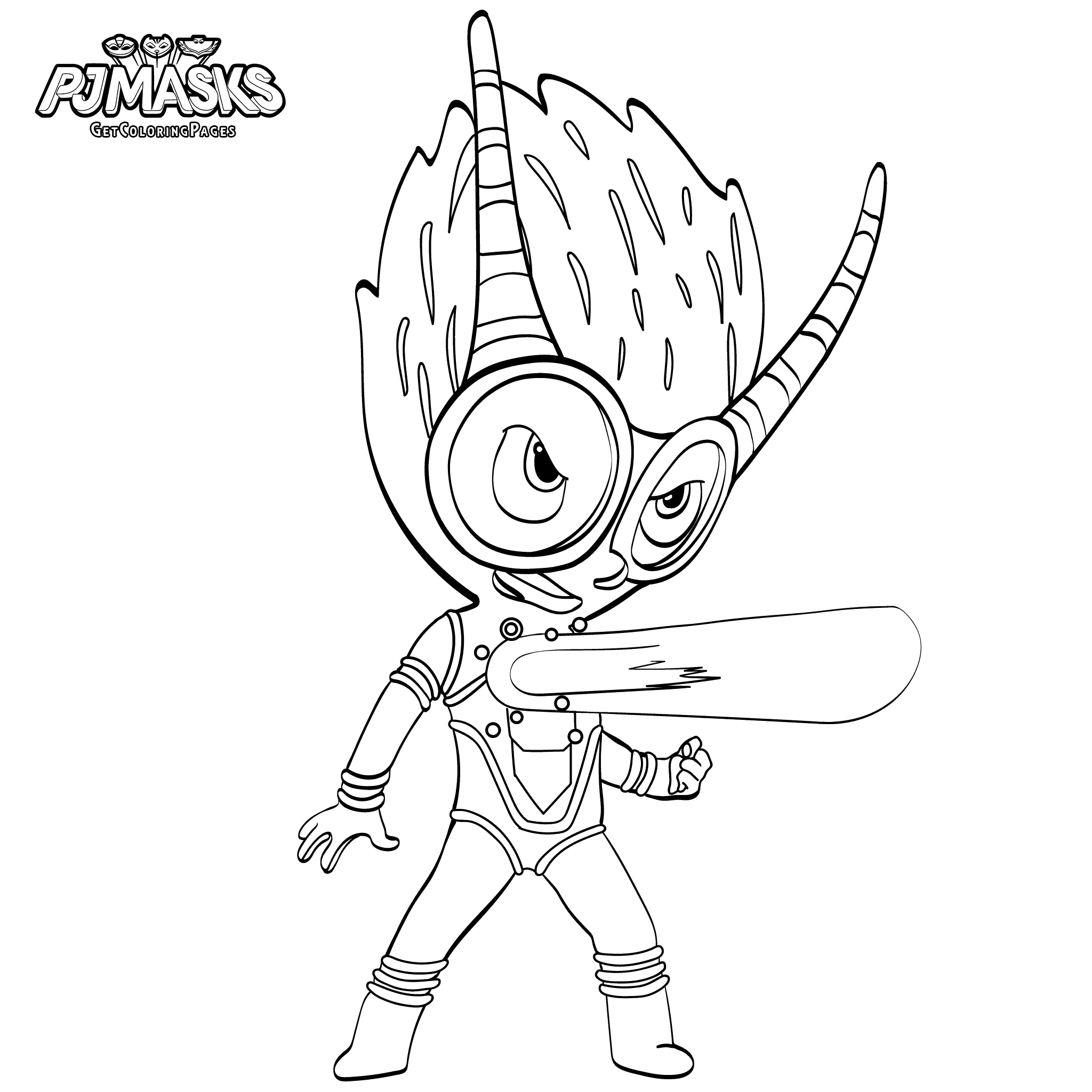 Top 30 PJ Masks Coloring Pages | Pj mask and Pj