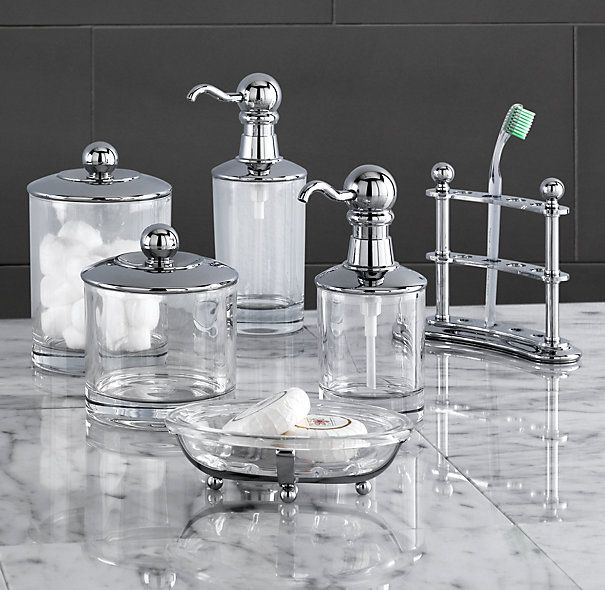 Beau Vintage Bathroom Accessories From RestorationHardware.com