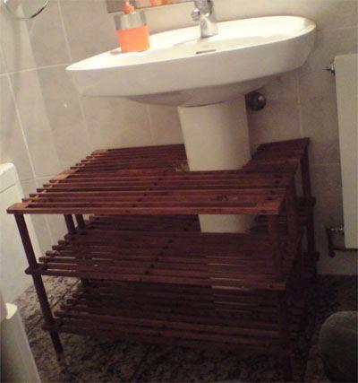 Banquetas mueble bajo lavabo con pie casa ideas for Mueble lavabo pie leroy merlin