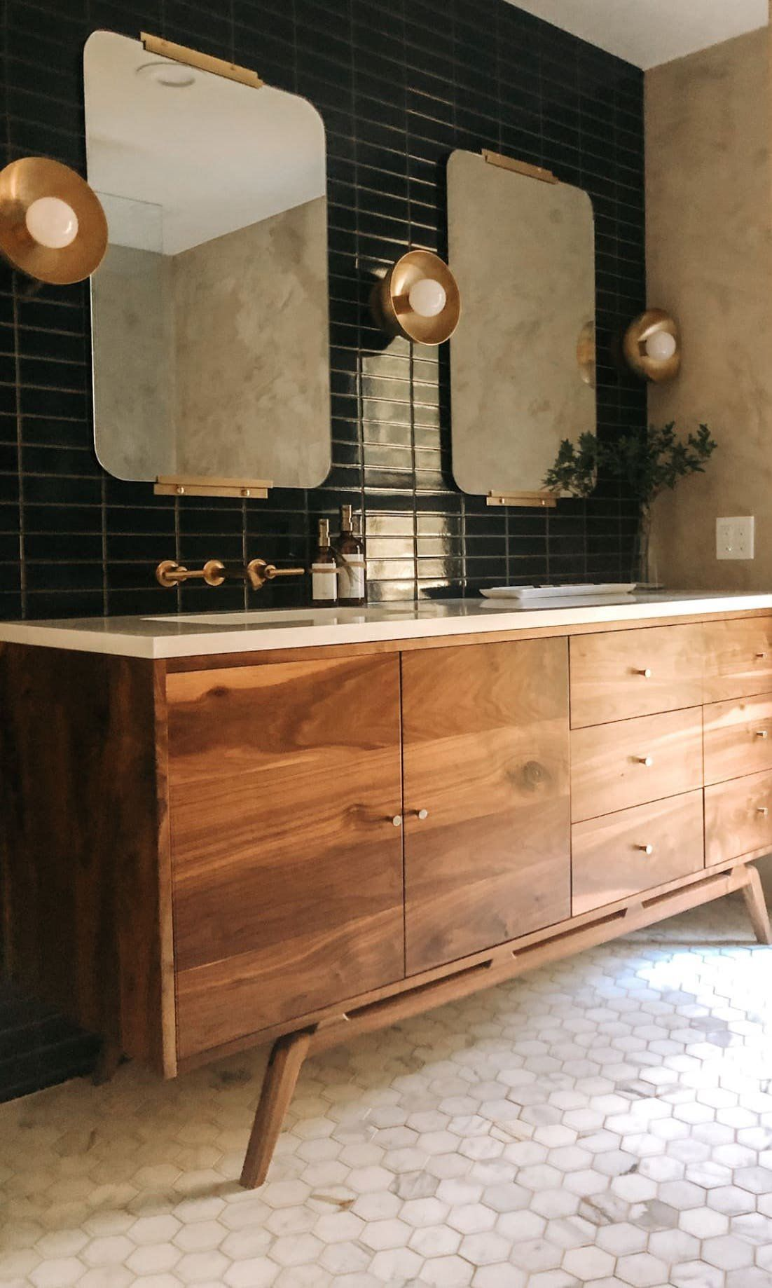 Photo of #bathroomideas Before and After: This New Bathroom Is Straight Out of a Fancy Hotel – bathroom