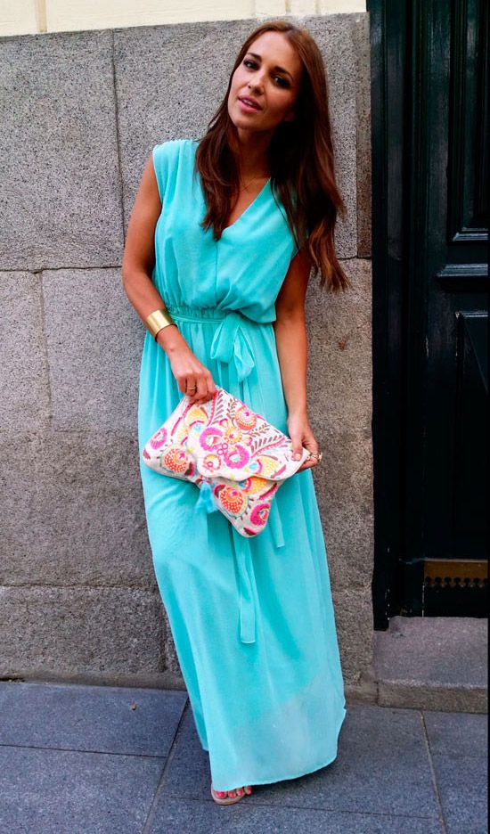 La Dresses Perfecta Outfits Fashion Boho Invitada Chic rWrUgO
