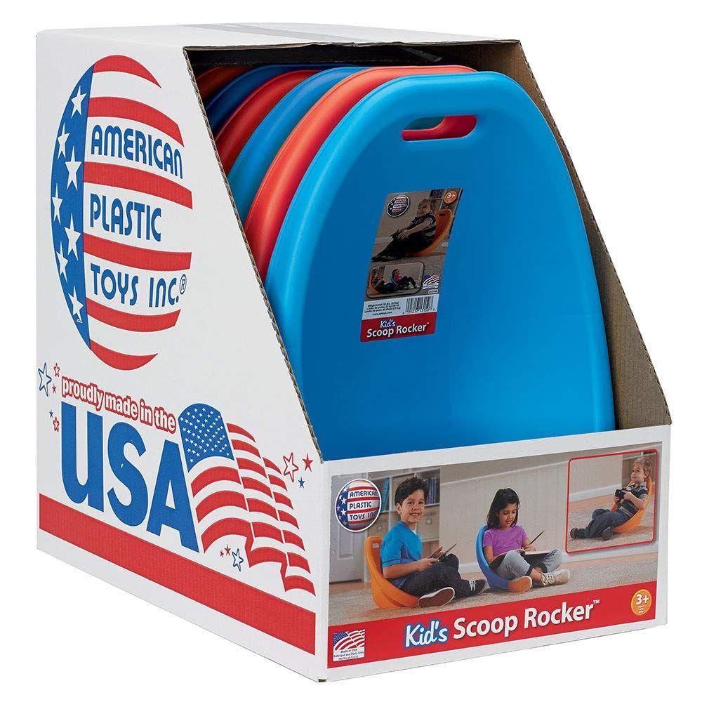 American Plastic Toys Scoop Rocker (Pack of 6