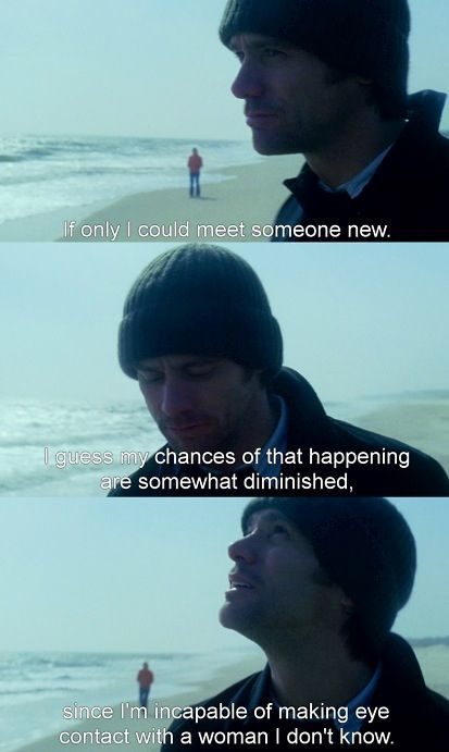eternal sunshine of the spotless mind. If only I could meet ...