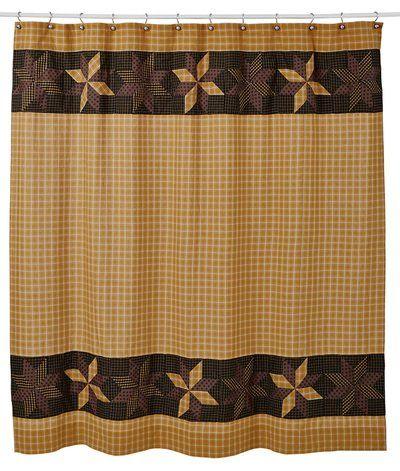 Amherst Shower Curtain 72x72 Lasting Impressions Https Www Amazon Com Dp B00huwzqe6 Primitive Shower Curtains Bathroom Shower Curtains Cotton Shower Curtain