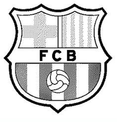 Football Badge Fcb Teenagers Coloring Pages Coloring Pages