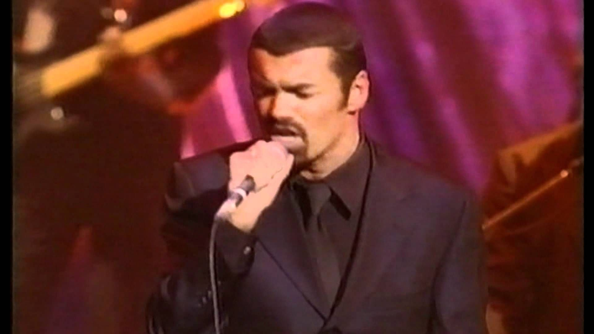 Famed Performer George Michael Performs His Mega Hit Song Fast