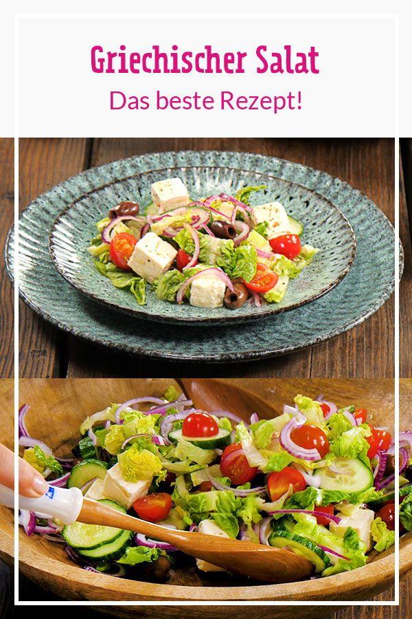Griechischer Salat – so gelingt der Klassiker! | LECKER