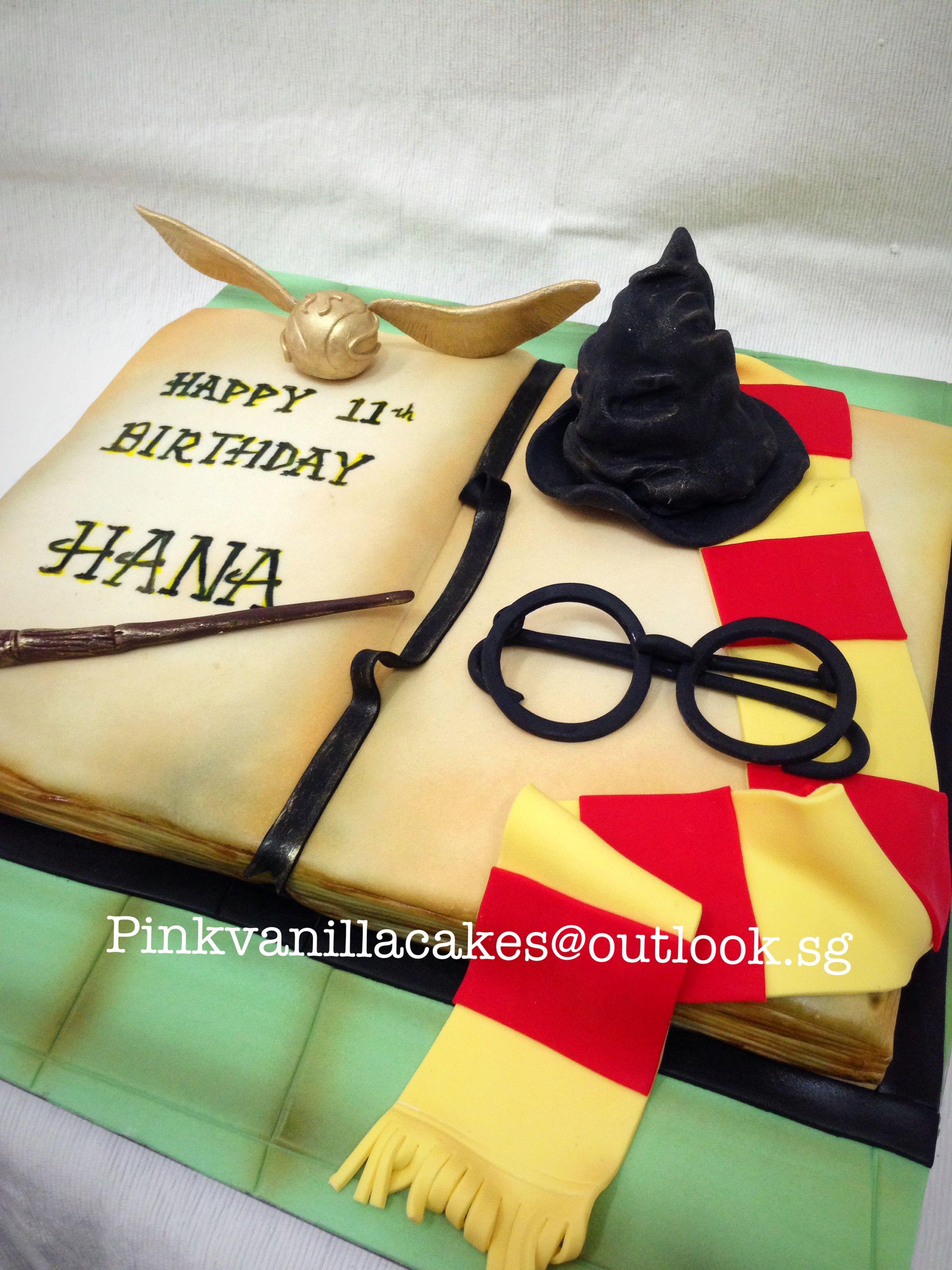 Harry Potter Birthday Cake 3d Harry Potter Birthday Cake Singapore