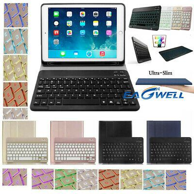 Smart Case With Wireless Keyboard Cover For Ipad 6th 5th Generation 2018 9 7 Us In 2020 Smart Case Ipad Cover Ipad 6