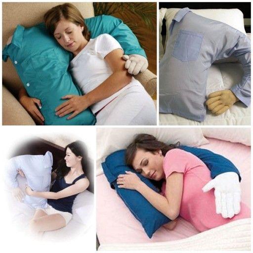 cozy boyfriend cuddle pillow diy