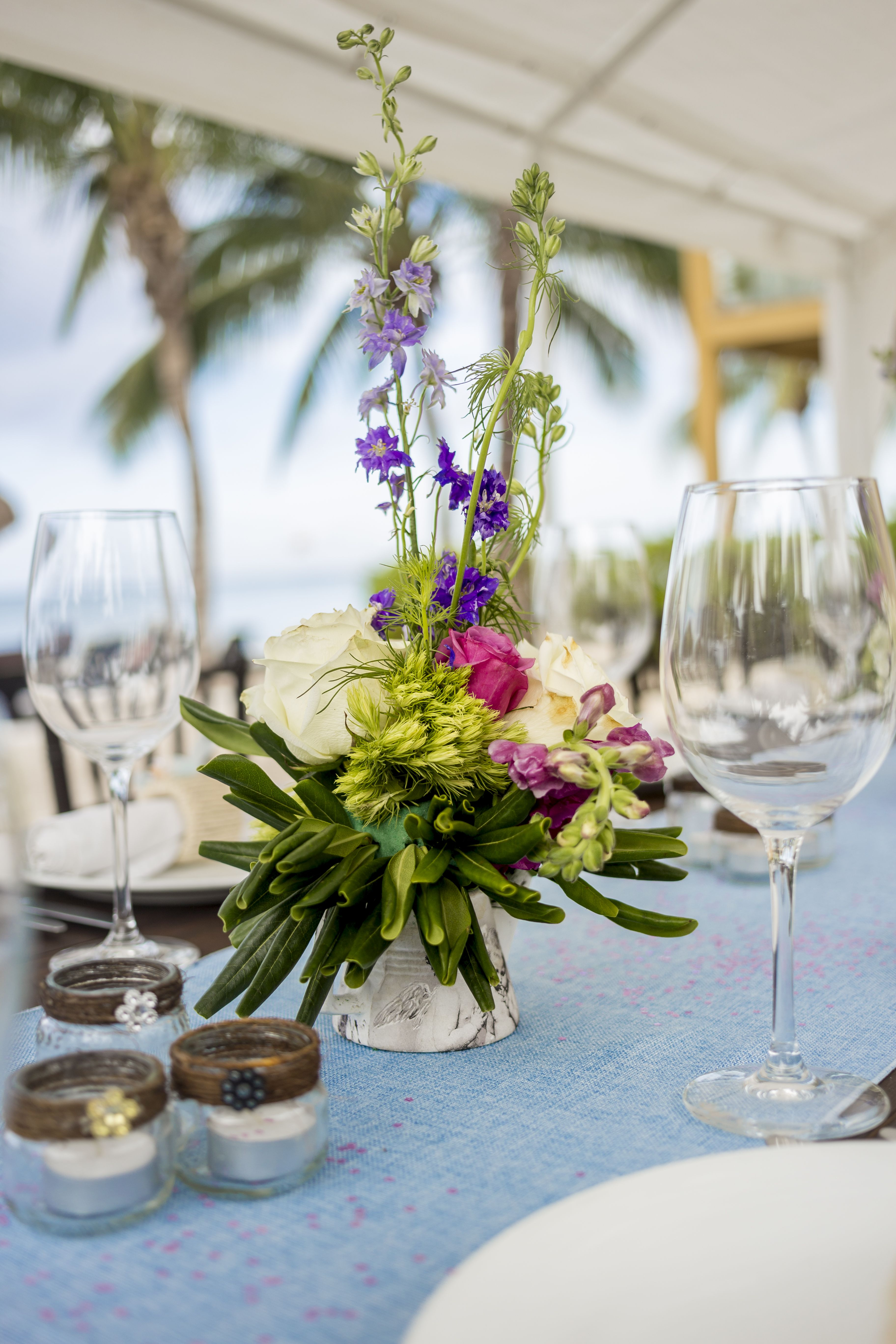 Customize The Perfect Centerpiece For Your Destination Wedding Here