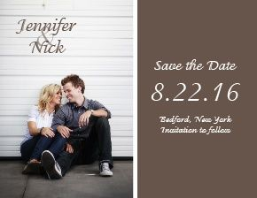 The Happy Couple Save-the-Date Card