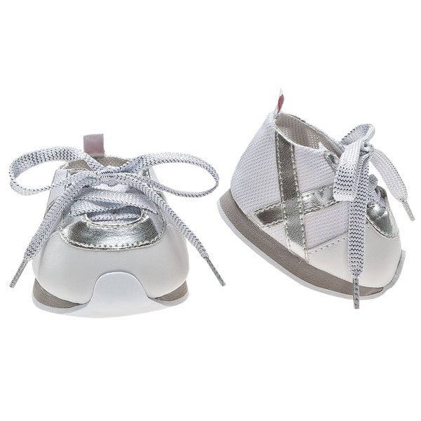 Silver Stripes Tennies | Build-A-Bear Workshop