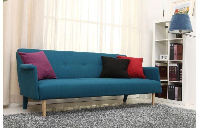 Divano Blu ~ Divano design convertibile blu oscar gauche milano