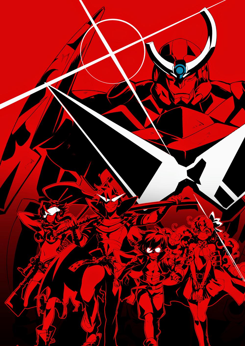 Gg Gurren Lagann Mecha Anime Anime Images