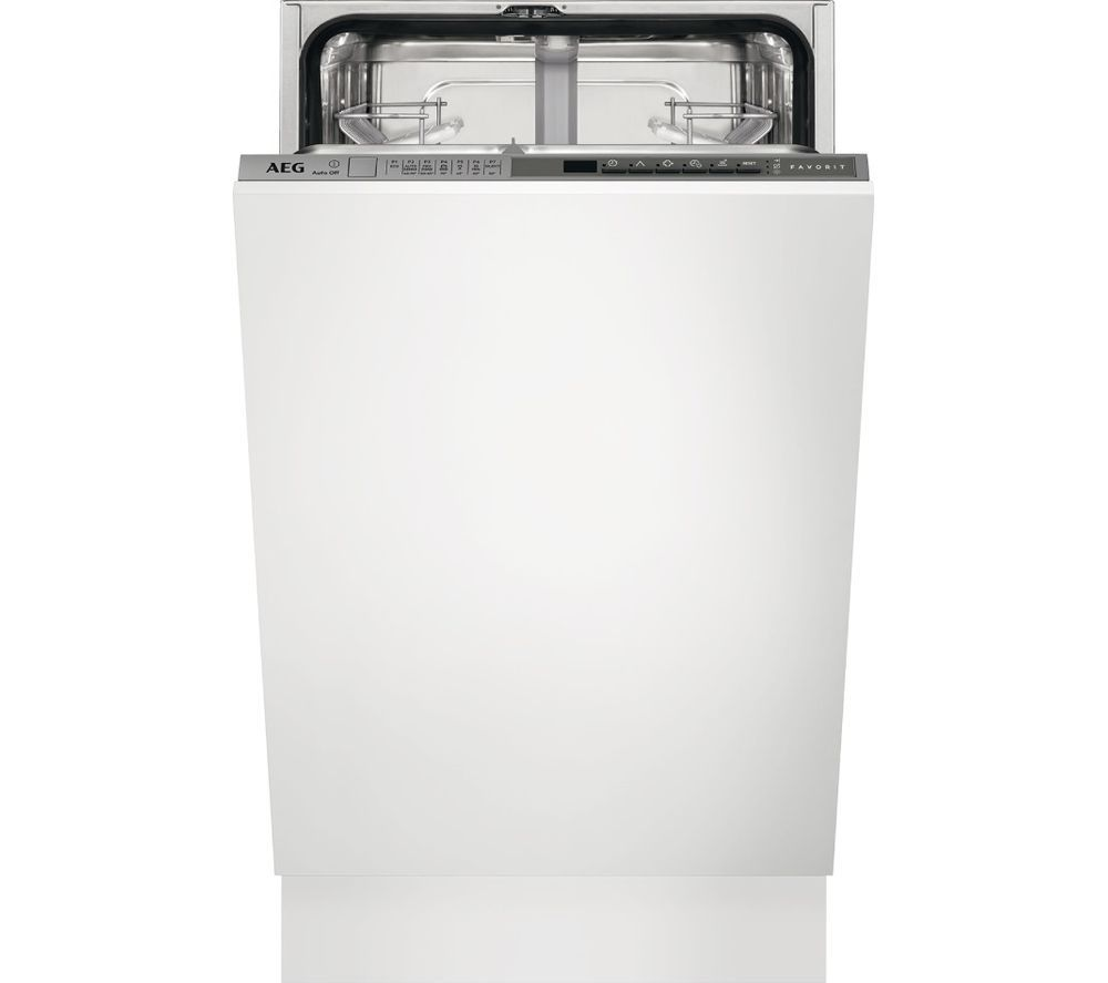 AEG FSS63400P Slimline Integrated Dishwasher Slimline