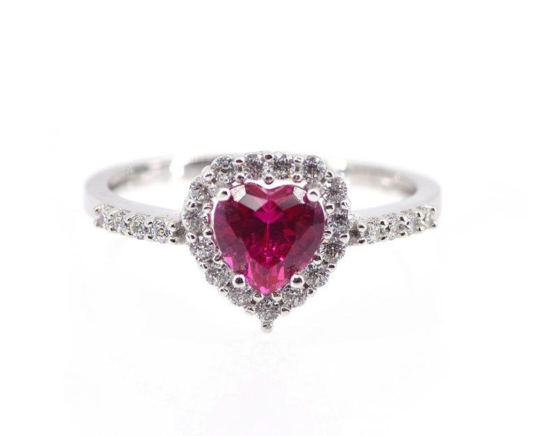 anello pandora pietra rossa