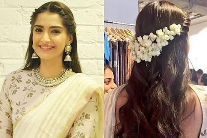 10 Gorgeous Gajra Hairstyles To Dazzle At Your Bestie S Wedding In 2020 Engagement Hairstyles Traditional Hairstyle Indian Hairstyles