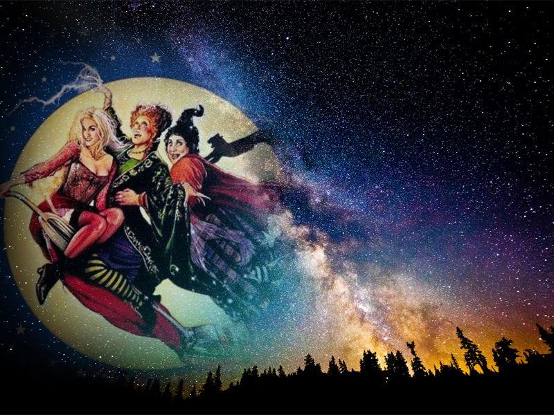 Hocus Pocus Wallpaper 4 By Weissdrum On Deviantart Halloween Wallpaper Witch Wallpaper Cartoon Wallpaper
