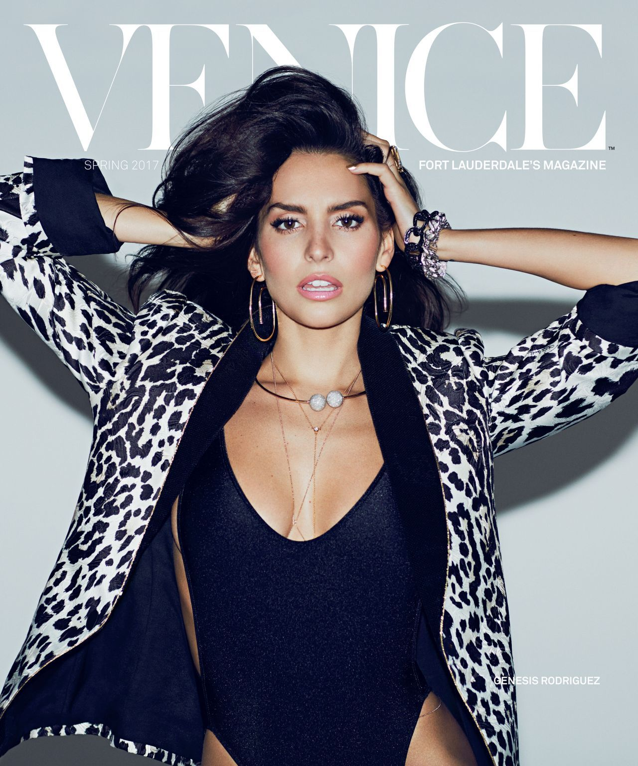 Genesis Rodriguez Nude throughout issue, #magazine genesis rodriguez – venice magazine (ft