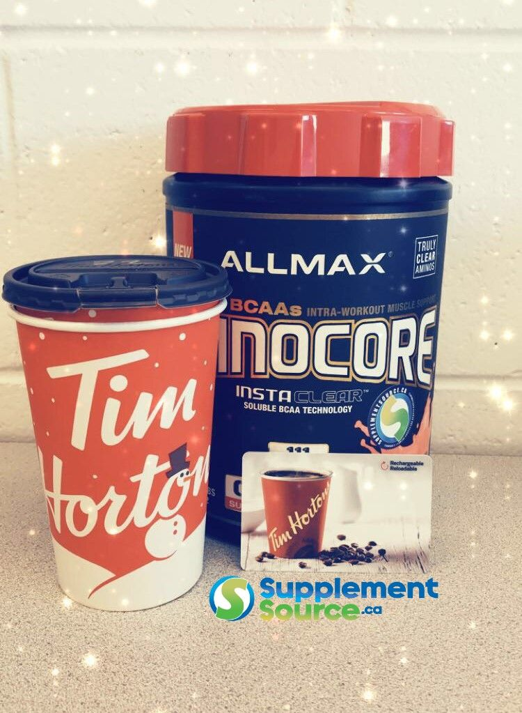 Get a free 10 tim hortons gift card with select supps