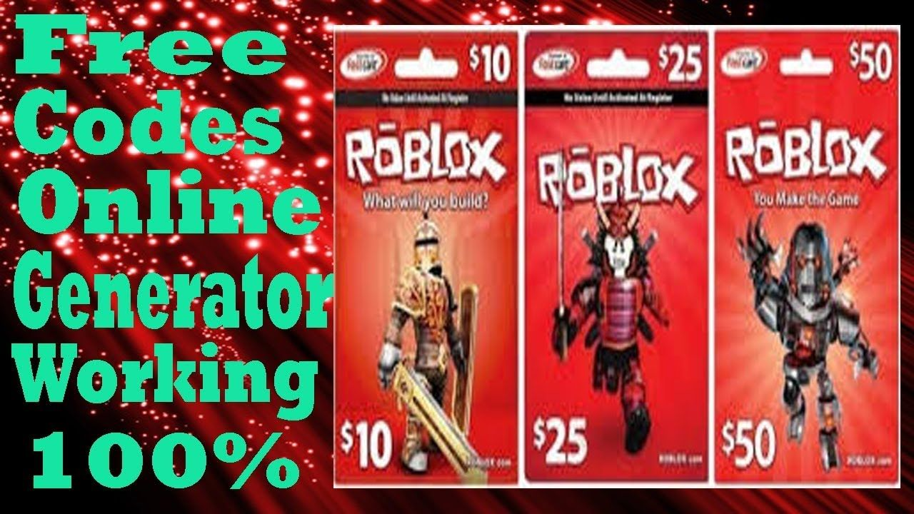Roblox Gift Card Code Random Generator How To Get Free Robux In 2020 Roblox Gifts Roblox Free Gift Cards