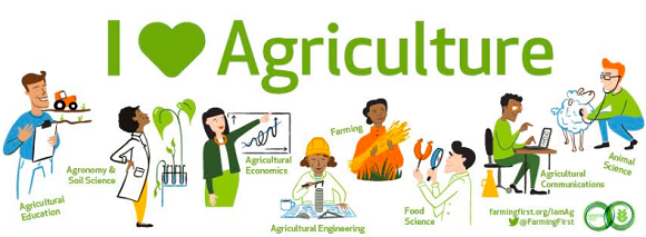 I love agriculture Farming First's campaign